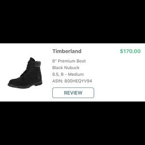 Timberland boots.  Women's.